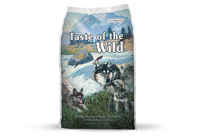 TASTE OF THE WILD Pacific Stream Puppy 15lb Grain Free Dry Dog Food