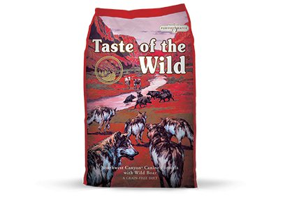 TASTE OF THE WILD TOW D SW CANYON GF 14# DRY