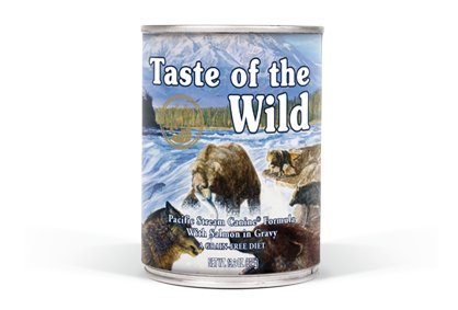 TASTE OF THE WILD Taste of the Wild Pacific Stream 13oz Grain Free Canned Dog Food