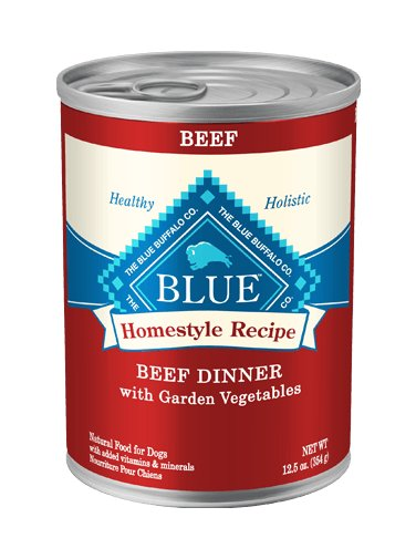 Blue Buffalo Blue Buffalo Homestyle Recipe Beef Dog 12.5oz