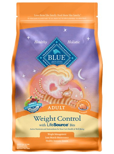 Blue Buffalo Weight Control Chicken & Brown RIce Cat 7lb