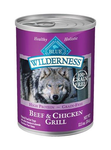 Blue Buffalo Blue Buffalo Wildnerness Beef & Chicken Dog 12.5oz