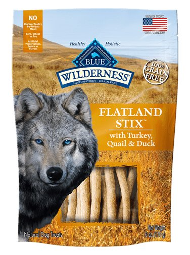 Blue Buffalo Blue Buffalo Wildnerness Flatland Stix 6oz