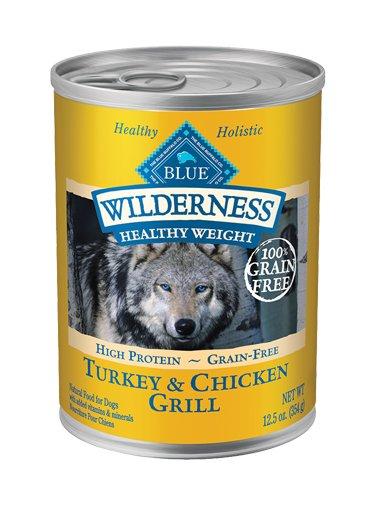 Blue Buffalo Blue Buffalo Wilderness Healthy Weight Turkey & Chicken Dog 12.5oz