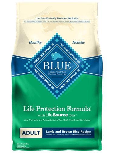 Blue Buffalo Blue Buffalo Life Protection Adult Lamb & Brown Rice 30lb Dry Dog Food
