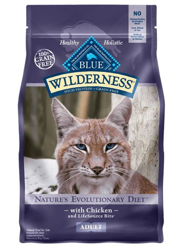 Blue Buffalo Wilderness Grain Free Chicken Cat 6lb