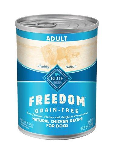 Blue Buffalo Blue Buffalo Freedom Grain Free Chicken Dog Food 12.5oz