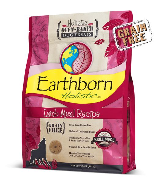 EARTHBORN Earthborn Grain Free Lamb Biscuit 14oz