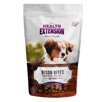 HEALTH EXTNSN PET CARE -VETSCH Health Extension Bison Bite Treats 6oz
