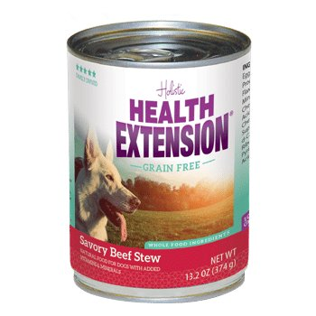 HEALTH EXTNSN PET CARE -VETSCH Health Extension Grain Free Beef Stew Can 13oz