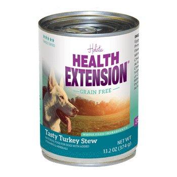 HEALTH EXTNSN PET CARE -VETSCH Health Extension Grain Free Turkey Stew Can 13oz