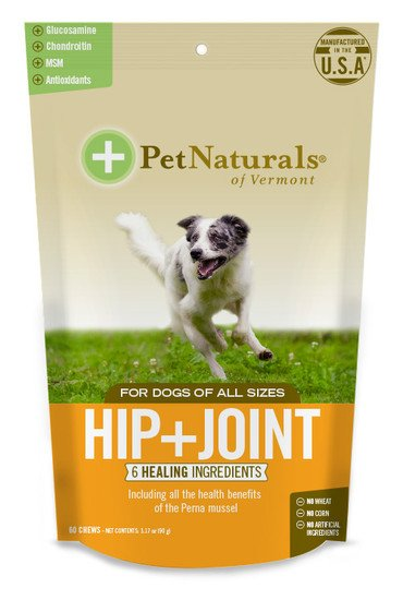 PET NATURALS OF VERMONT Pet Naturals of Vermont Dog Chew-Hip & Joint 60ct