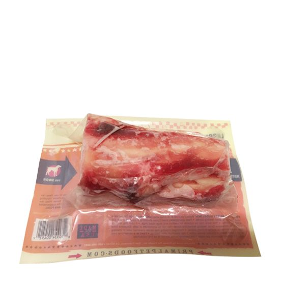 PRIMAL PET FOODS, INC. Primal Raw Beef Marrow Bone Large 1pk