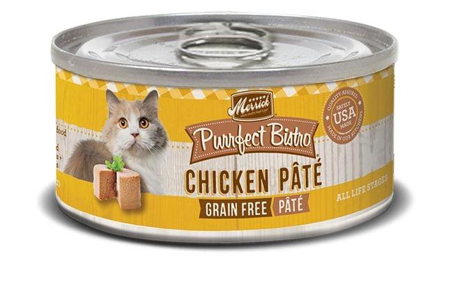 Merrick Merrick Purrfect Bistro Chicken Pate 5.5oz Grain Free Canned Cat Food