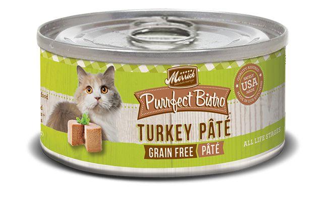 Merrick Merrick Purrfect Bistro Turkey Pate 5.5oz Grain Free Canned Cat Food