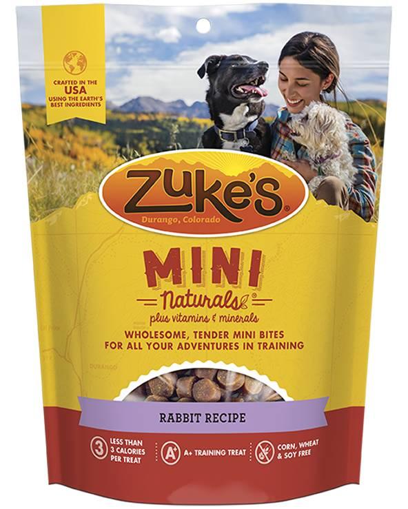 Merrick Zuke's Mini Natural Wild Rabbit Treat 6oz