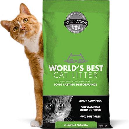 WORLDS BEST CAT LITTER World's Best Clumping Litter 14lb