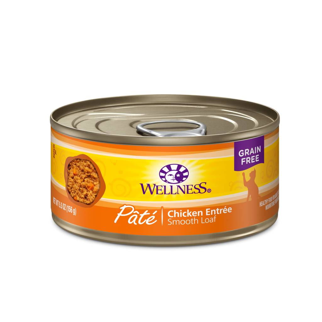 Wellness Wellness Complete Health Chicken Pate 5.5oz Grain Free Canned Cat Food