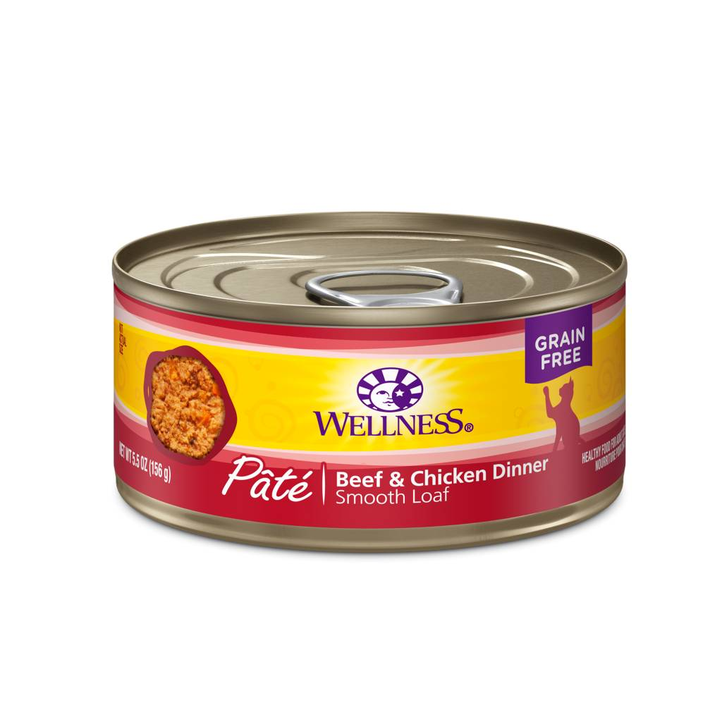 Wellness Wellness Complete Health Beef & Chicken 3oz Grain Free Canned Cat Food