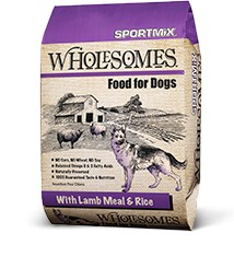 SPORTMIX Wholesomes Lamb meal & Rice 40lb