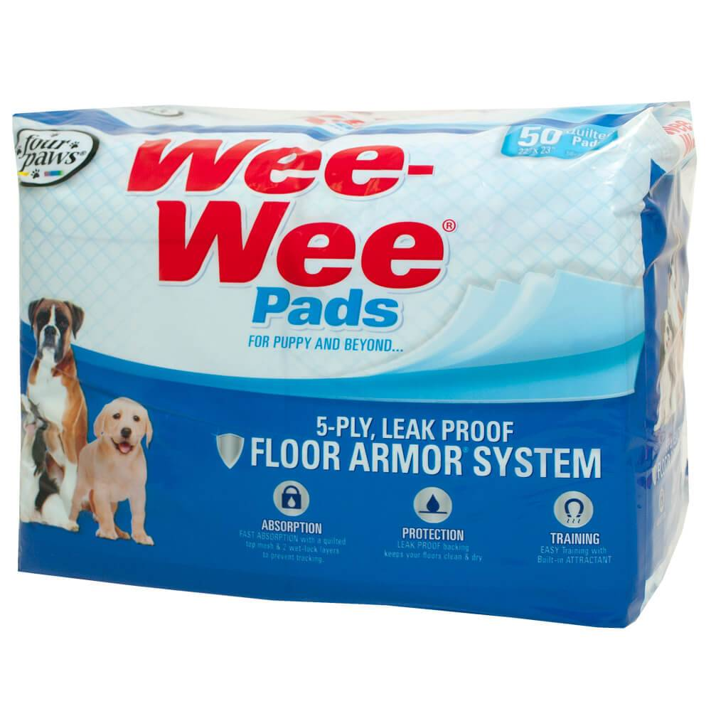 FOUR PAWS Wee Wee Pads Pup 50pk