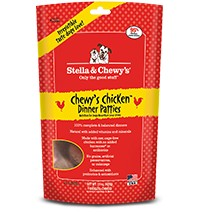 STELLA & CHEWY'S Stella & Chewy's Dog Freeze Dried Freeze Dried Chicken Dinner Patties 14oz