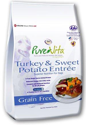 Pure Vita Pure Vita Grain Free Turkey Sweet Potato & Pea 25lb