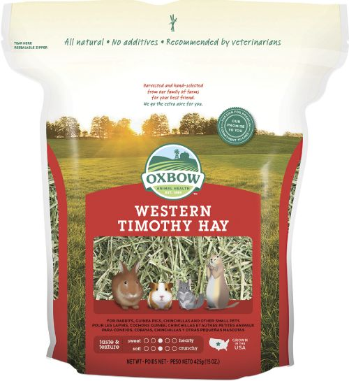 OXBOW PET PRODUCTS Oxbow Western Timothy Hay 15oz