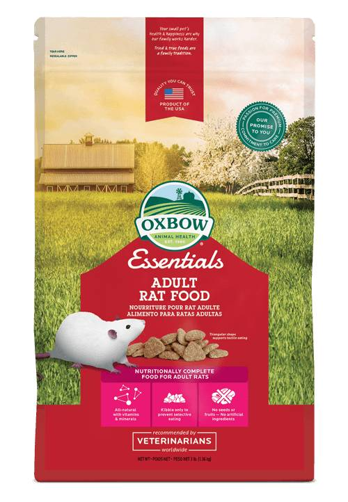 OXBOW PET PRODUCTS Oxbow Essential Adult Rat 3lb