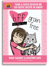 WERUVA Weruva BFF Tuna & Duck Devour Me 3oz Grain Free Pouch Cat Food