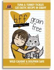WERUVA Weruva  BFF Tuna & Turkey Tickles 3oz Grain Free Pouch Cat Food