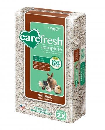 HEALTHY PET Carefresh Natural Paper Bedding 60L
