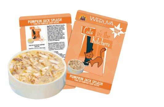 WERUVA Cats in the Kitchen Pumpkin Jack Splash 3oz pouch