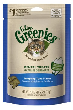 GREENIES Greenies Feline Dental Tuna Treat 5.5oz