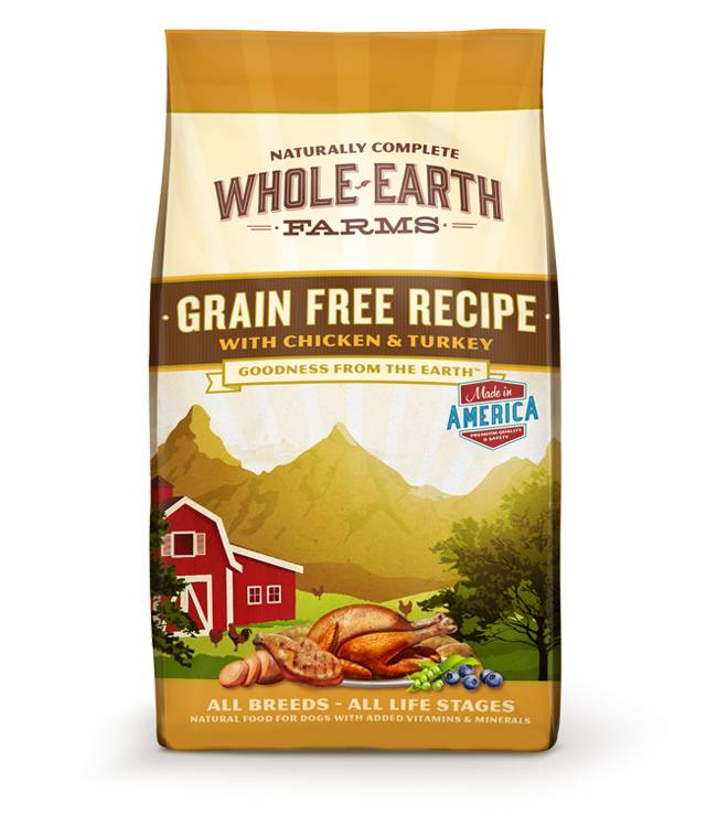 Whole Earth Farms Whole Earth Grain Free Chicken & Turkey 25lb