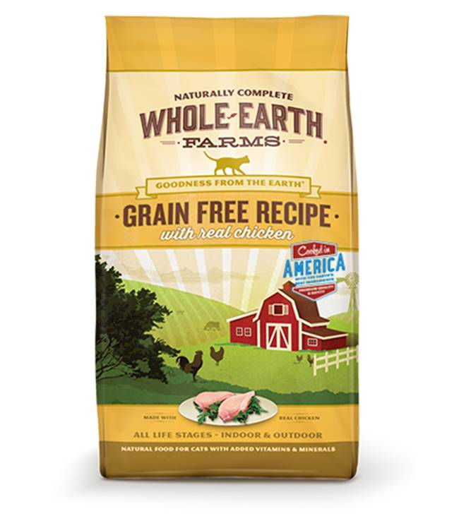 Whole Earth Farms Whole Earth Grain Freen Chicken for Cats 5lb