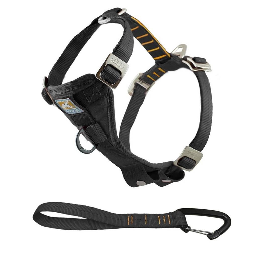 KURGO Kurgo Dog Harness with Tether, Large Black