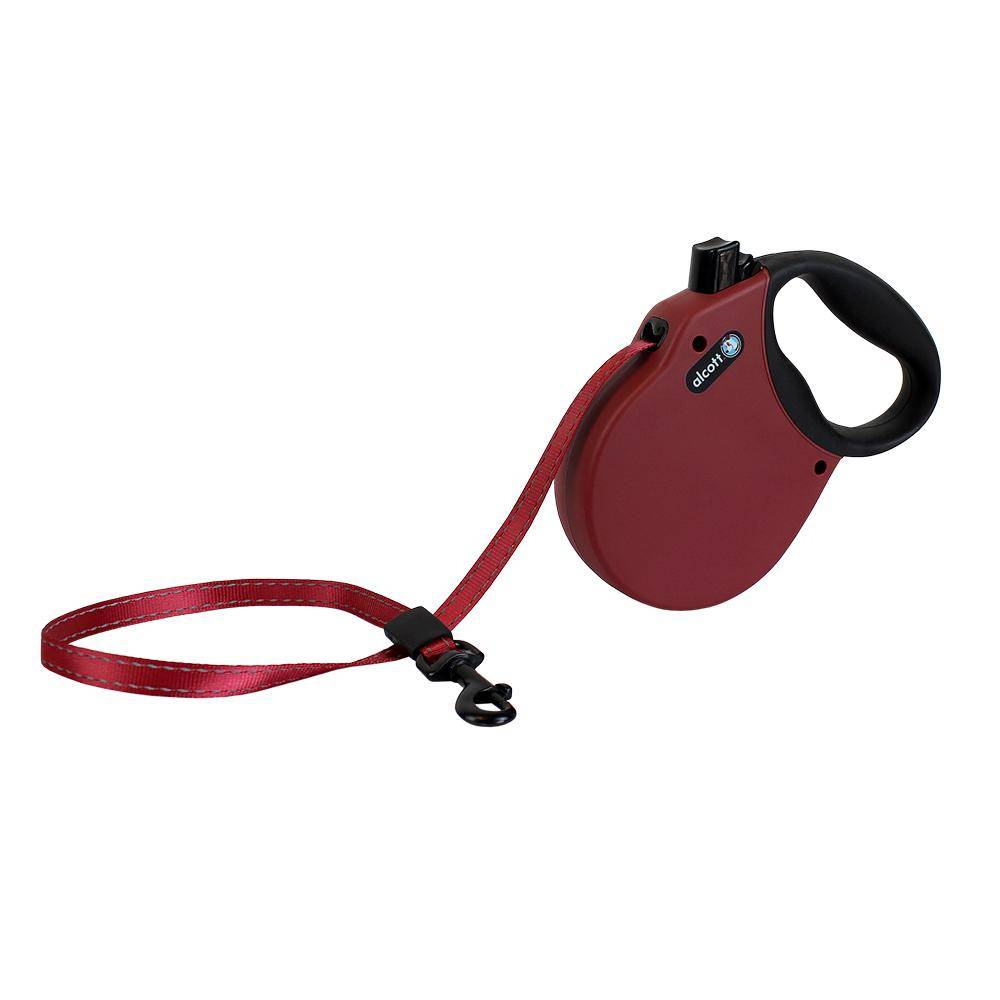 Alcott Retractable Leash Large (110LBS)  Red