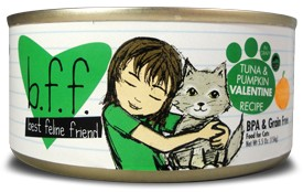 WERUVA Weruva BFF Tuna & Pumpkin Valentine 3oz Grain Free Canned Cat Food
