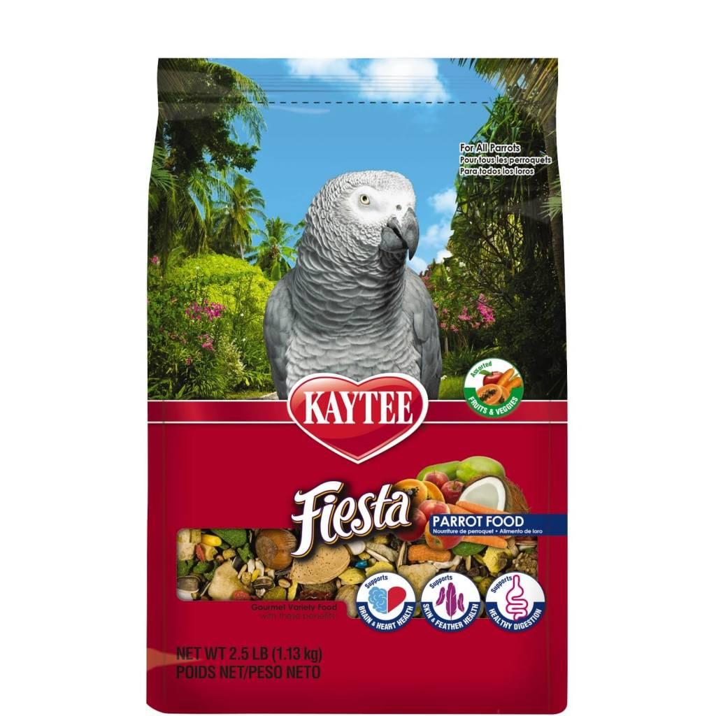 KAYTEE PRODUCTS INC FIESTAMAX PARROT FOOD 4.5#