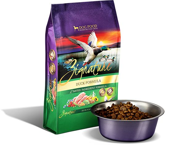 PETS GLOBAL ZIGNATURE DUCK FORMULA - 13.5#