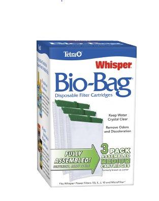 Spectrum Brands Whisper Bio-Bag Cartridge-Medium 3 Pack
