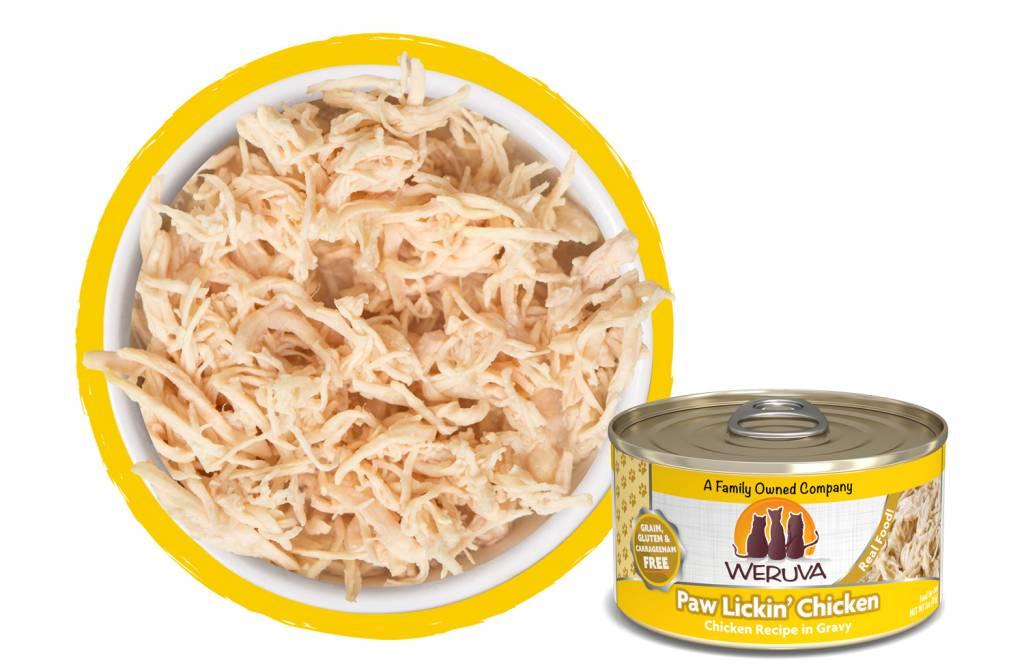 WERUVA Weruva Paw Lickin' Chicken 5.5oz Grain Free Canned Cat Food