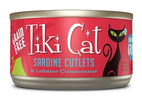 WHITEBRIDGE Tiki Cat Tahitian Grill Sardine Cutlets 2.8oz