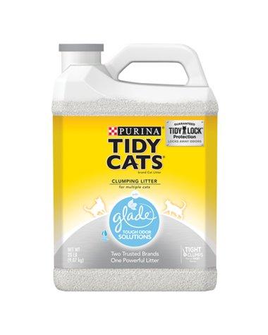 GOLDEN CAT Tidy Cat Glade Tough Odor Solutions 20lb Jug