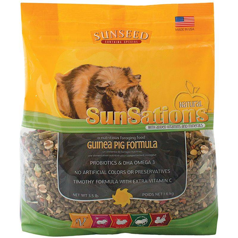 SUNSEED COMPANY Sunsations Guinea Pig Diet 3.5lb