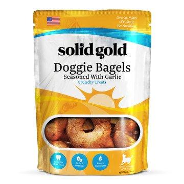 SOLID GOLD PET LLC Solid Gold Garlic Doggie Bagels 14.4oz
