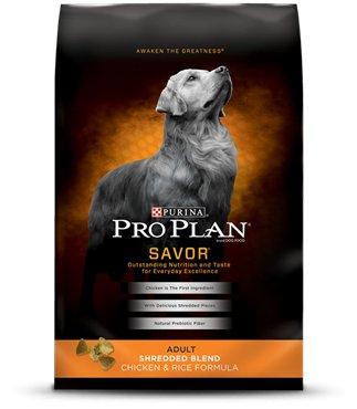 NESTLE PURINA PETCARE Purina Pro Plan Savor Shredded Blend Chicken & Rice 6lb