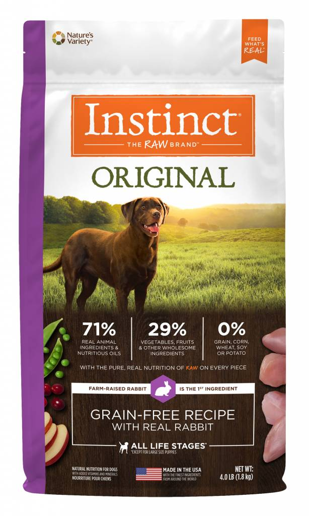 NATURE'S VARIETY Nature's Variety Instinct Original Dog Food Rabbit 20lb