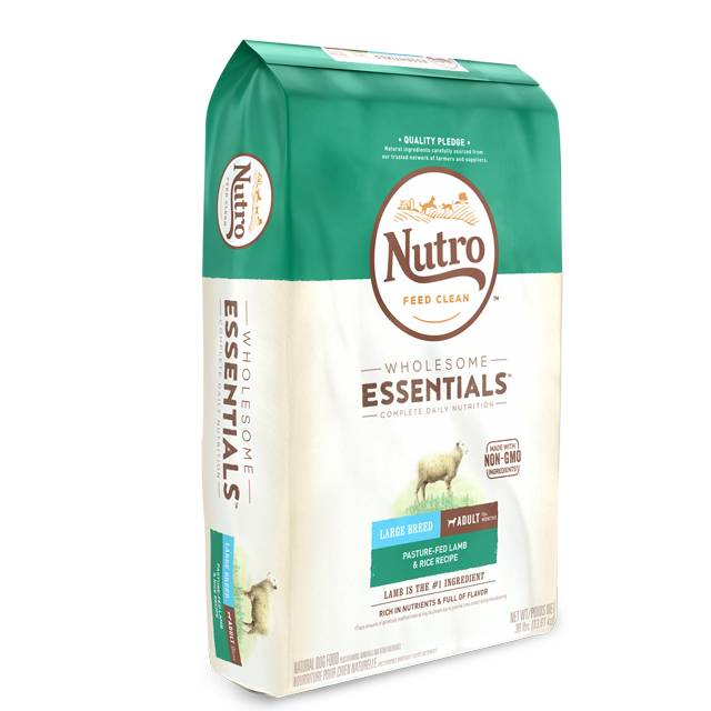 NUTRO PRODUCTS  INC. Nutro Wholesome Essentials Large Breed Lamb & Brown Rice Dog 30lb